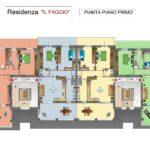 PLANIMETRIA SEMPLIFICATA A COLORI PIANO PRIMO Il Faggio_page-0001