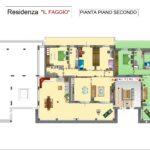 PLANIMETRIA SEMPLIFICATA A COLORI PIANO SECONDO Il Faggio_page-0001